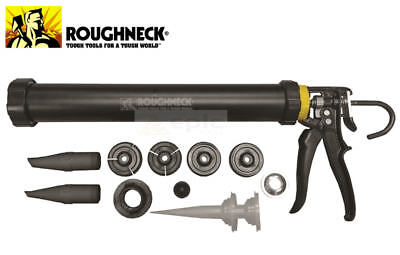 Roughneck ULTIMATE Mortar Grouting Gun Set For Brick Pointing Tile Cement, 32150