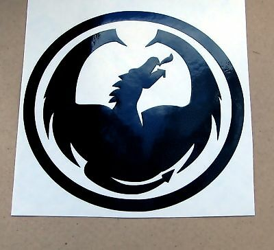 1 DRAGON OPTICAL SNOWBOARD CAR STICKER DECAL DIE CUT s1