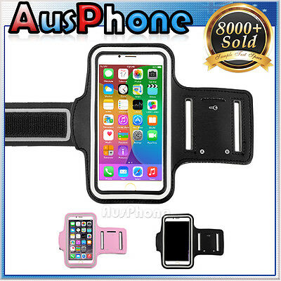 Gym Sport Running Jogging Armband Pouch Case for Apple iPhone 5S 5C 5 4S 4
