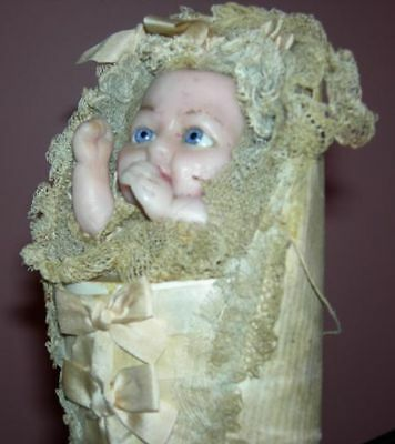 Wonderful!!! - Wax - Swaddling Baby - Candy Container