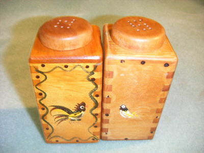 Woodpecker Woodware Salt Pepper  Shaker Pat.japan
