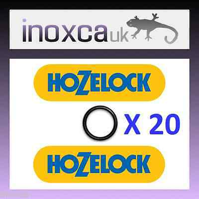 """20 Hozelock Replacement """"o"""" Rings Rubber O-Ring Seals Spares Kit Quick Connect"""