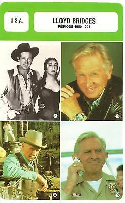Fiche Cinema - Lloyd Bridges - 1950-1991