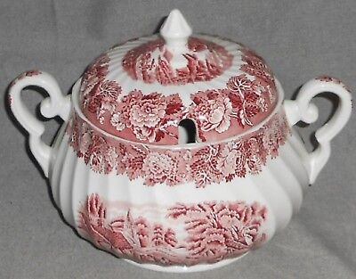 Wood & Sons ENGLISH SCENERY Soup Tureen SWIRL DESIGN