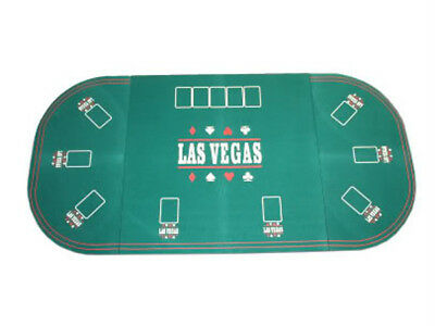 Tavolo Verde Poker Ovale Texas Hold'em Black  Fiches