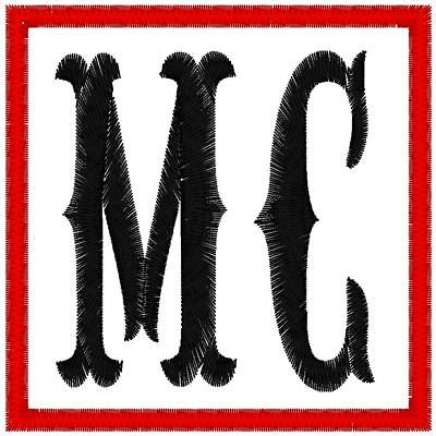 Custom Embroidered Motorcycle Mc  Patch