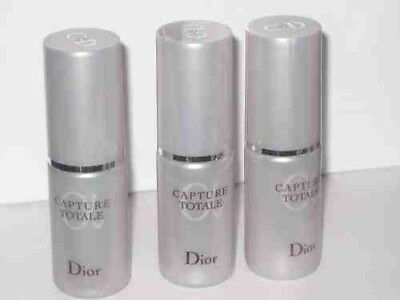 100% Genuine 3 x CDior CAPTURE TOTALE MULTI-PERFECTION SERUM 10ML Travel Size