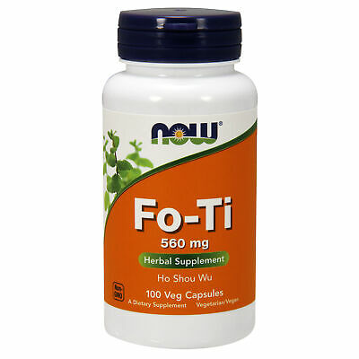 Fo-Ti Chinese Knotweed 560mg 100 Veg Capsules | Natural High Resveratrol Content