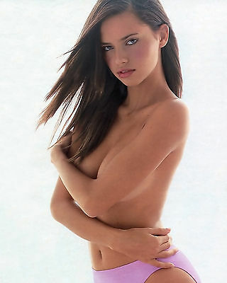 ADRIANA LIMA 8X10 PHOTO PICTURE PIC SEXY HOT CANDID 55