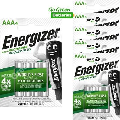 24x Energizer AAA Rechargeable Batteries 700 mAh NiMH LR03 HR03 Dect Phone Solar