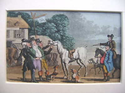 Engravings Dr.syntax Rowlandson Early 19Thc Racing York