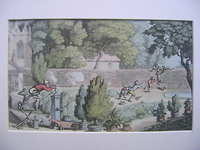 Engravings Dr.syntax Rowlandson Early 19Thc Scrumping