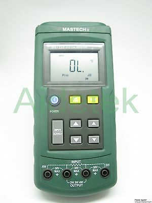 MS7222 THERMOCOUPLE CALIBRATOR compared w/ FLUKE 712