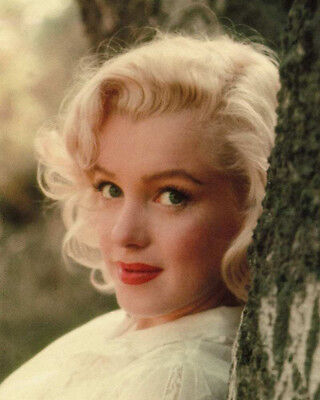 MARILYN MONROE 8x10 CELEBRITY PHOTO SINCERE CLOSE UP! VERY NICE