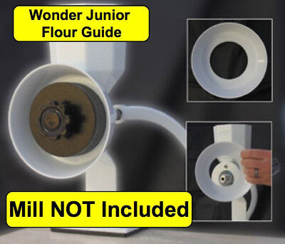 Wonder Junior Grain Mill Flour Guide - NEW - WonderMill
