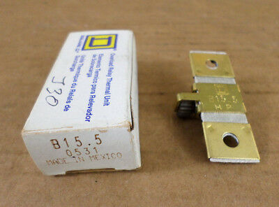 Square D B15.5 Overload Relay Thermal Unit