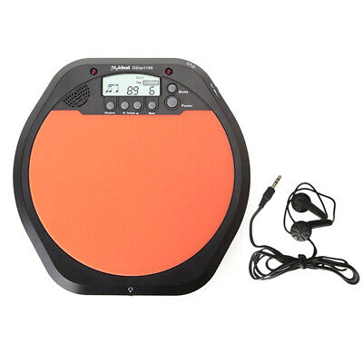 New Digital Drummer Training Practice Drum Pad Metronome High quality