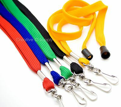 LOT 250 Breakaway NECK Lanyards - STRAP - For ID Badges