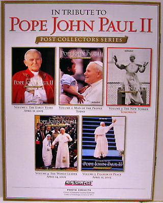 In Tribute to Pope John Paul II:NY Post - 5 Issue Set