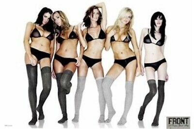 FRONT GIRLS ~ LEGGINGS 24x36 PINUP POSTER Lingerie Panties NEW/ROLLED!