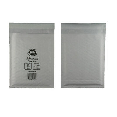 500 Jl0 Actual Jiffy Bags White (Cd Size) +Free 24H Delivery