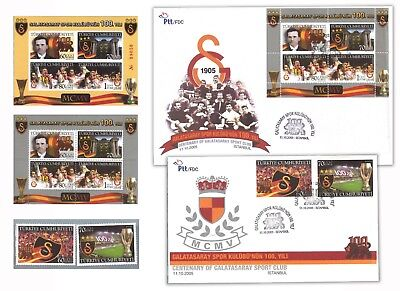 "Turkey- 100Th Anniv  ""galatasaray-Istanbul Football"