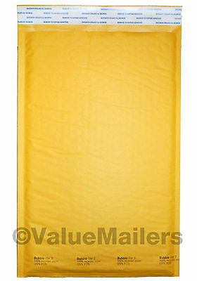 #3 (1000) 8.5x14.5 KRAFT BUBBLE MAILERS PADDED ENVELOPE