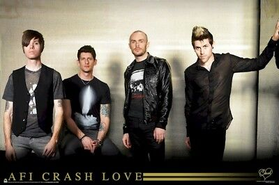 Music Poster ~ Afi Crash Love Group A Fire Inside