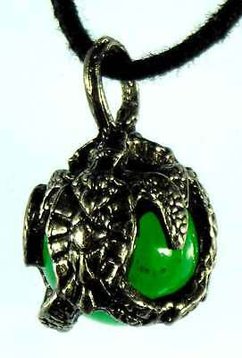 Green Turtle Pewter Pendant Hippie Goth Wicca Fairy1742