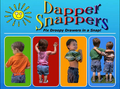 NEW Dapper Snapper Toddler adjustable belt baby boy girl kid stretchy elastic