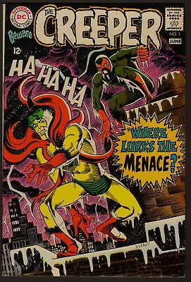 Beware The Creeper #1 Vf- Silver Age 1968
