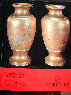 CHRISTIE'S Oriental Ceramics Works of Art June 17, 1992