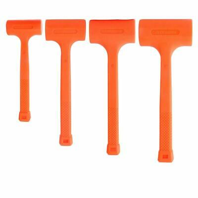 4PC Dead Blow Hammer, Neon Orange  1, 2, 3, 4LB
