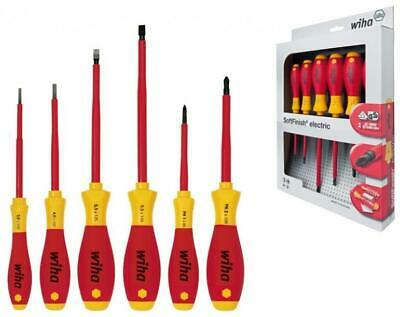 WERA REDBULL Racing 7 Pce Kraftform Pozi,Phillips & Slot Screwdriver Set, 227700