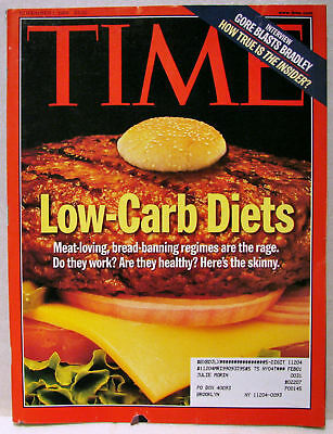 Vintage TIME Magazine Nov November 1 1999 11/1/99 V154#18 RARE Low-Carb/Gore