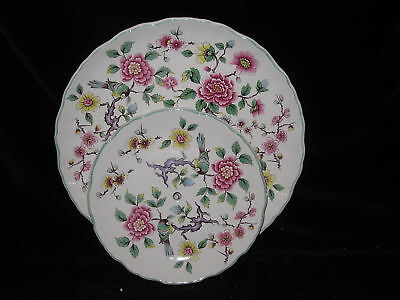 JAMES KENT Chinese Rose Birds - 2 TIER SERVER no handle