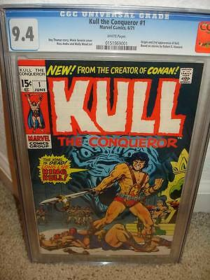 Kull the Conqueror #1 CGC 9.4 1971 Marvel 01 cm