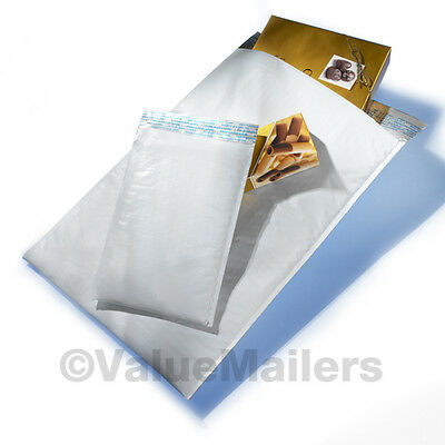 300 #2 QUALITY POLY 8.5x12 USA BUBBLE MAILERS PADDED ENVELOPES BAGS 100 .3
