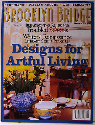 BROOKLYN BRIDGE MAGAZINE Apr-May 2000 WFF All That TAZZ / Pat Mulcahy VERY RARE