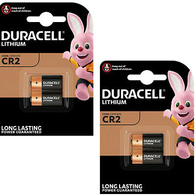 3 x DURACELL 3V LITHIUM CR2 Ultra Photo Batteries DLCR2