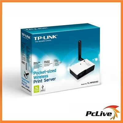 NEW TP-Link TL-WPS510U USB Wireless Print Server 2.4Ghz WIFI Share