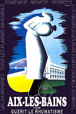 French Vintage POSTER.Stylish Graphics.Golf? Room or Bar Decor.Art.386