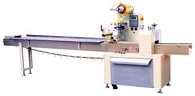 New EntrePack HT-641 Horizontal Flow Wrapper