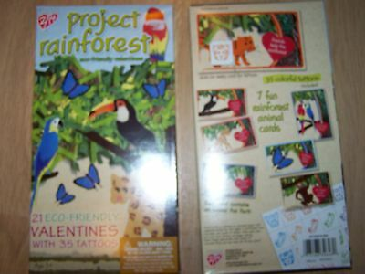 21 Project Rainforest Valentines Day Cards & Tattoos NW