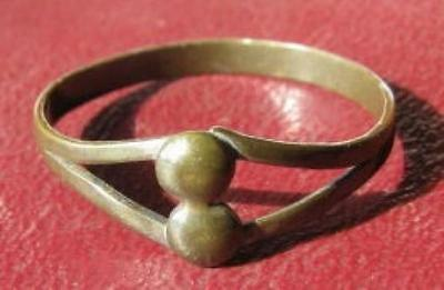 Authentic Antique Artifact >Metal Detector Find FINGER RING 10 1/4 US 20 mm 6483