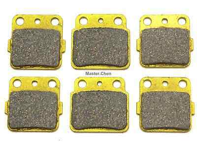 Front Rear Brake Pads For LTZ Z 400 Kawasaki KFX 400 KFX400 3 SETS