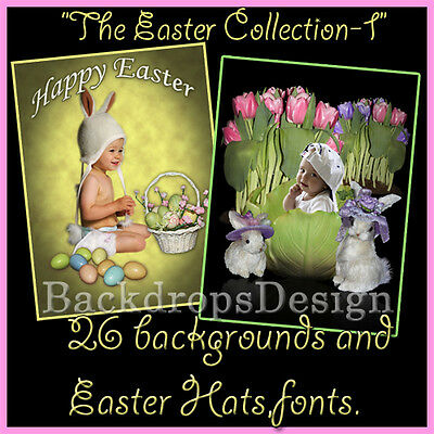 Digital  Photography Backdrops Backgrounds Props Fantasy Flowers Baby Kids Props