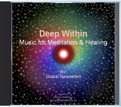 Deep Within Meditation Reiki Relaxation Music CD