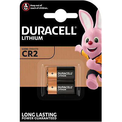 20  DURACELL 3V LITHIUM CR2 Ultra Photo Batteries DLCR2