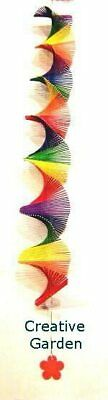 Bright Rainbow Spiral Mobile - Light Weight Perfect for Babies Room
